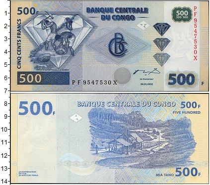 Картинка Боны Конго 500 франков  2002