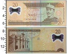 Изображение Банкноты Доминиканская республика 20 песо 2009  UNC