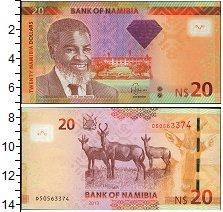 Изображение Банкноты Намибия 20 долларов 2013  UNC