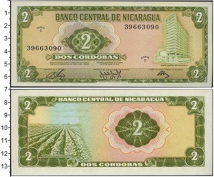 Картинка Боны Никарагуа 2 кордоба  1972