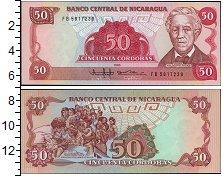 Изображение Боны Никарагуа 50 кордоба 1985  UNC