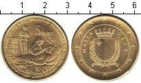 Изображение Мелочь Мальта 5 евро 2014  UNC 100 лет Первой миров