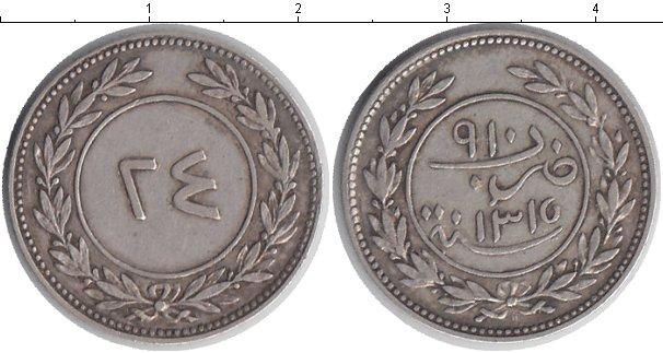 Картинка Монеты Йемен 24 кхумси Серебро 1898