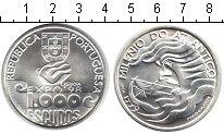 Изображение Монеты Португалия 1000 эскудо 1999 Серебро UNC- Международный Год ок