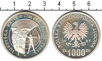 Изображение Монеты Польша 1000 злотых 1987 Серебро Proof-