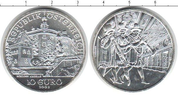 Картинка Монеты Австрия 10 евро Серебро 2002