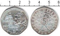 Изображение Монеты Австрия 5 евро 2006 Серебро UNC Моцарт