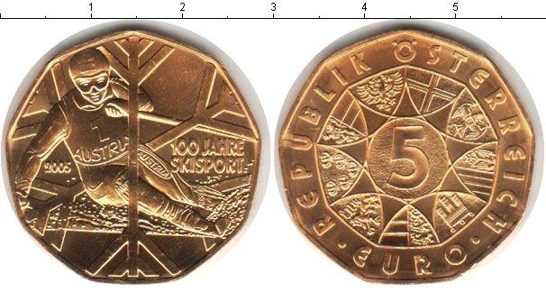 Картинка Монеты Австрия 5 евро Серебро 2005