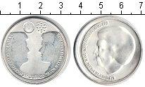 Изображение Монеты Нидерланды 10 евро 2002 Посеребрение UNC- Свадьба Виллем-Алекс