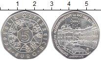 Изображение Мелочь Австрия 5 евро 2006 Серебро UNC-