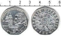 Изображение Монеты Австрия 5 евро 2006 Серебро UNC- Моцарт