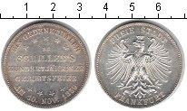 Изображение Монеты Франкфурт 1 талер 1859 Серебро XF 100-летие со дня рож