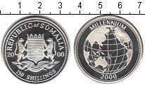 Изображение Монеты Сомали 150 шиллингов 2000 Серебро Proof- Миллениум