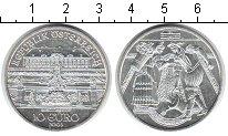 Изображение Монеты Австрия 10 евро 2003 Серебро UNC- Садовник и цветочниц