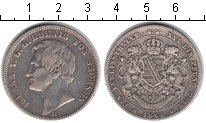 Изображение Монеты Германия Саксония 1 талер 1864 Серебро VF