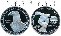 Изображение Монеты США 1 доллар 1983 Серебро Proof- Олимпиада 1984 в Лос