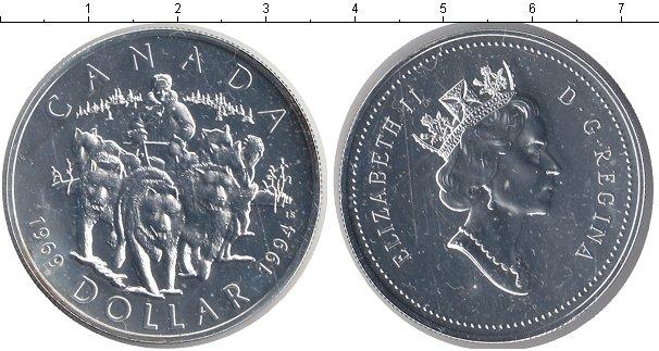 Картинка Монеты Канада 1 доллар Медно-никель 1994