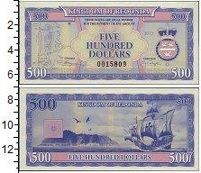 Изображение Боны Редонда 500 долларов 2013  UNC-