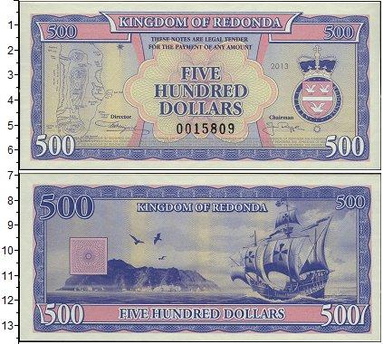 Картинка Боны Редонда 500 долларов  2013