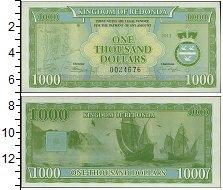 Изображение Боны Редонда 1000 долларов 2013  UNC-
