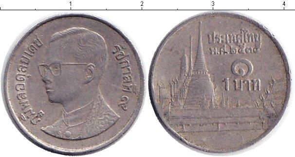 Картинка Барахолка Таиланд 1 бат Медно-никель 1977