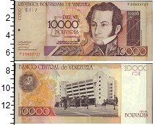 Изображение Банкноты Венесуэла 10000 боливар 2004  UNC