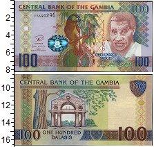 Изображение Банкноты Гамбия 100 даласи 0  UNC