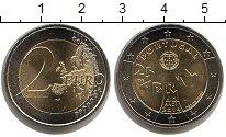 Изображение Мелочь Португалия 2 евро 2014 Биметалл UNC- 40 лет Революции гво