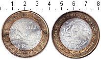 Изображение Мелочь Мексика 100 песо 2006 Биметалл UNC- Штаты Мексики. Колим