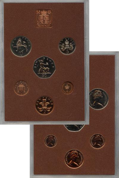 Изображение Подарочные наборы Великобритания Выпуск 1974 года 1974  AUNC