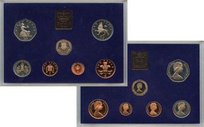 Изображение Подарочные наборы Великобритания Выпуск 1982 года 1982  Proof Выпуск монет 1982 го