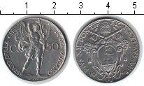 Изображение Монеты Ватикан 50 сентесимо 1940 Медно-никель XF Пий XII.