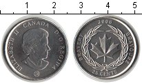 Изображение Мелочь Канада 25 центов 2006 Медно-никель UNC- Медаль за храбрость.