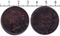 Изображение Монеты Остров Джерси 1/12 шиллинга 1894 Медь VF Виктория