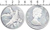 Изображение Монеты Виргинские острова 1 доллар 1975  Proof- Елизавета II
