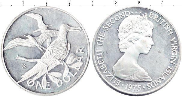Картинка Монеты Виргинские острова 1 доллар  1975