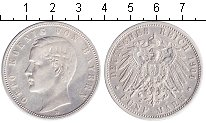Изображение Монеты Бавария 5 марок 1904 Серебро XF Отто