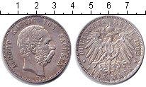 Изображение Монеты Саксония 5 марок 1902 Серебро XF