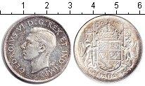 Изображение Монеты Канада 50 центов 1944 Серебро XF