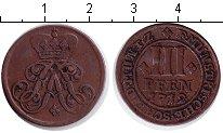 Изображение Монеты Мюнстер 3 пфеннига 1712 Медь