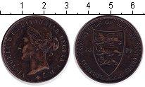 Изображение Монеты Остров Джерси 1/12 шиллинга 1877 Медь  Виктория.