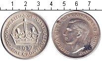 Изображение Монеты Австралия 1 крона 1937 Серебро XF Георг VI.