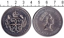 Изображение Монеты Великобритания 5 фунтов 1990 Медно-никель XF 90-летие Королевы-Ма