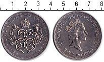 Изображение Монеты Великобритания 5 фунтов 1990 Медно-никель UNC- 90-летие Королевы-Ма