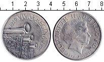 Изображение Монеты Великобритания 5 фунтов 2006 Медно-никель XF 80-летие Елизаветы I