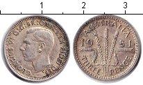 Изображение Монеты Австралия 3 пенса 1951 Серебро