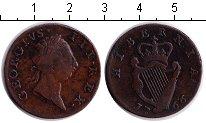 Изображение Монеты Ирландия 1/2 пенни 1766 Медь  Георг III