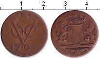 Изображение Монеты Нидерландская Индия 1 дьюит 1793 Медь VF