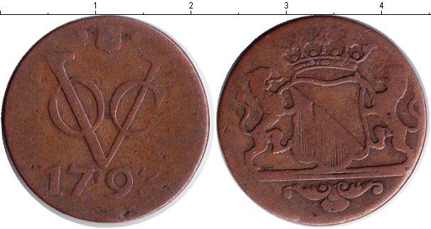 Картинка Монеты Нидерландская Индия 1 дьюит Медь 1793