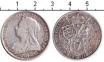 Изображение Монеты Великобритания 1 флорин 1901 Серебро VF Виктория